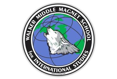 Walker Middle Magnet School Car Magnet