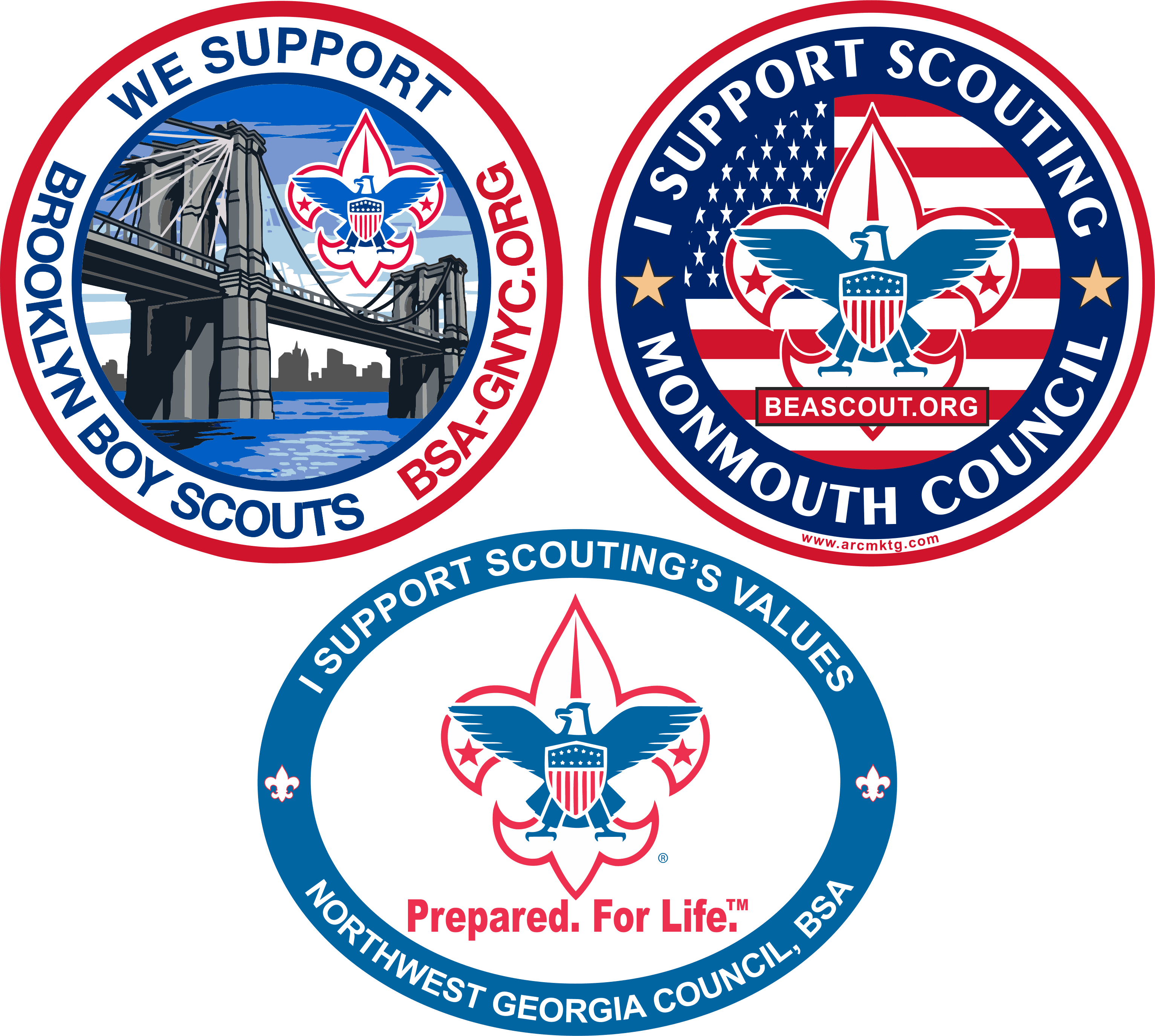 Scouting Car Magnets